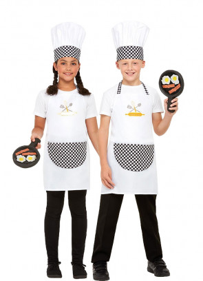 Kids Chef Costume Kit