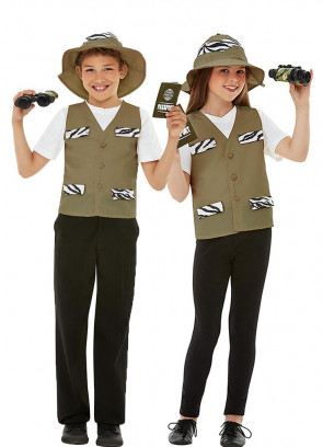Kids Explorer Costume Kit