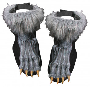 Werewolf Shoe Covers (Grey)