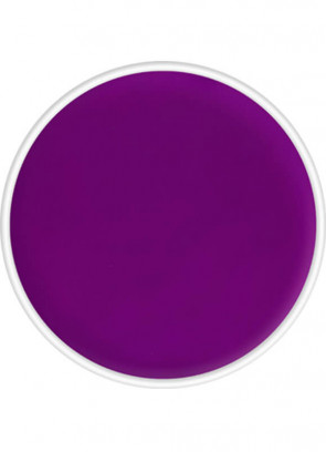 Kryolan 4ml Aquacolor UV-Day Glow Purple Make-Up Body Paint