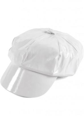 60s White PVC Cap