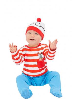 Where's Wally Baby Costume