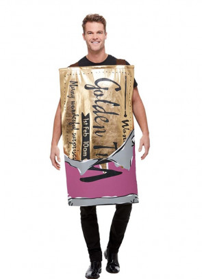 Winning Wonka Bar Costume - Roald Dahl - Charlie and the Chocolate Factory