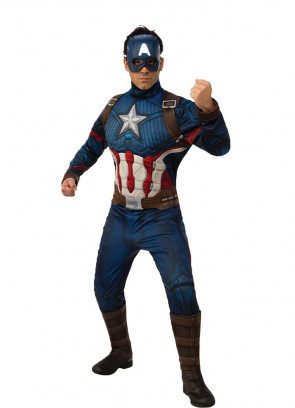 Deluxe Captain America – Marvel - Avengers Endgame Adult Costume