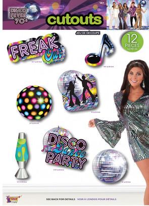 70's Disco Cutouts