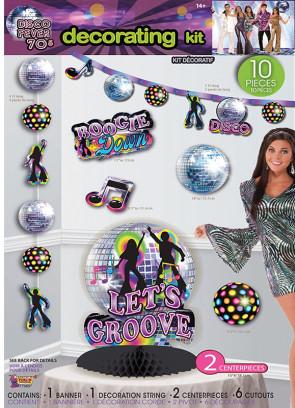 70's Disco Decorating Kit
