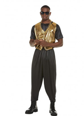 80's MC Hammer Time Men's Costume