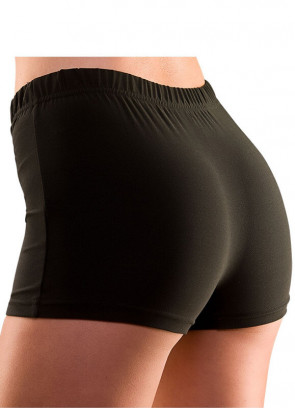 Black Hot Pants
