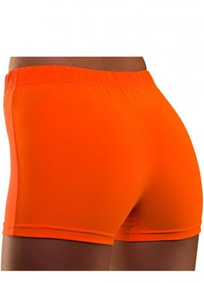 80s Hot Pants Neon Orange