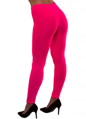 80s Leggings Neon Pink
