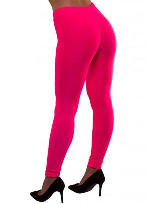 80s Leggings Neon Pink