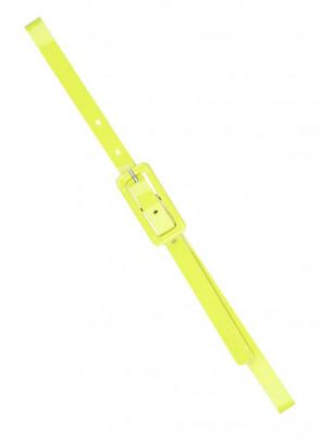 80's Belt - Neon Yellow