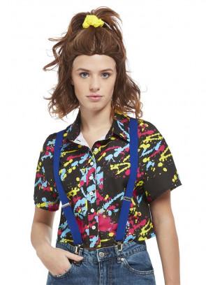 Ladies 80s Telepath Girl Shirt