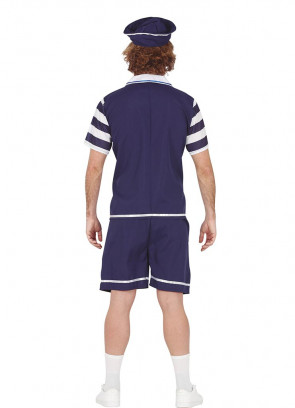 80s Ice-Cream Sailor Mens Costume