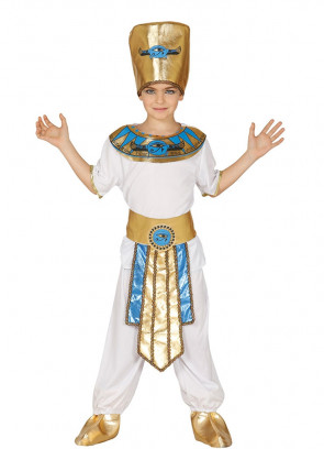 Egyptian Pharaoh with Trousers - White