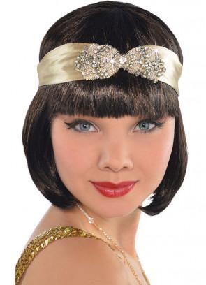 Champagne Flapper Headband