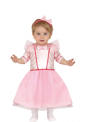 Pink Princess Baby Costume