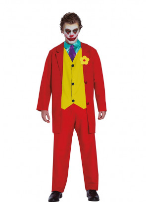 Mr Smile – Red Prankster Suit - Mens