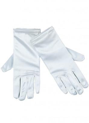 Gloves (White Satin)