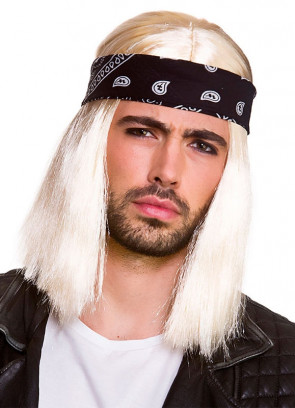 Blonde 90's Rocker Wig