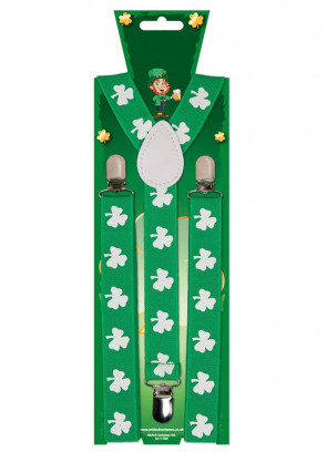 St Paddys Trouser Braces / Suspenders