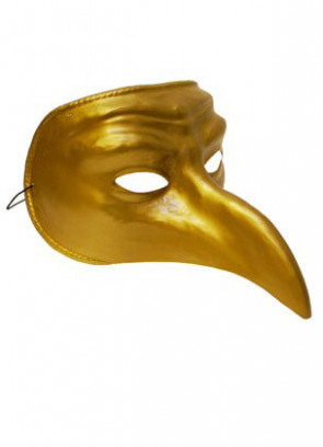 Gold Venetian Eye Mask