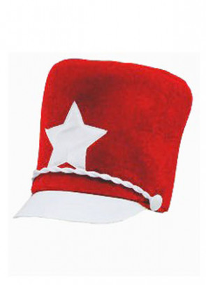 Majorette Hat (Red)