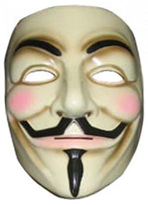 V For Vendetta Plastic Mask