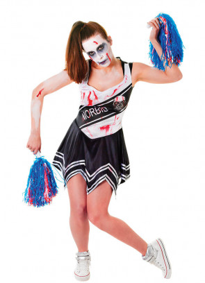 Cheerleader Zombie Black