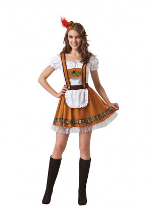 German Country Bar Girl (Oktoberfest Bavarian)