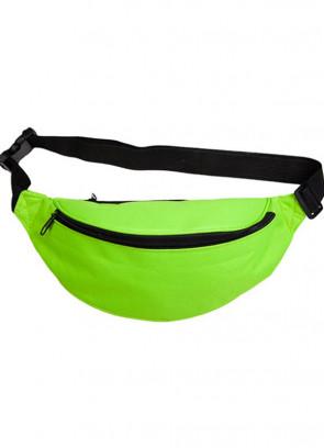 "Bumbag – Neon Green - up to 48"" Waist"