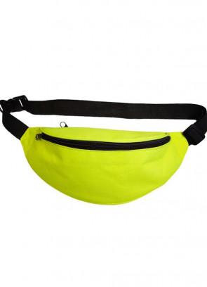 "Bumbag – Neon Yellow - up to 48"" Waist"