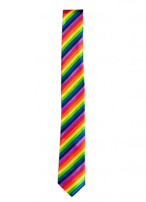 Pride Rainbow Tie