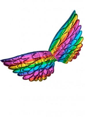 Pride Rainbow Wings - Metallic 21cm x 42cm