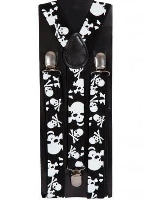 Skull Trouser Braces