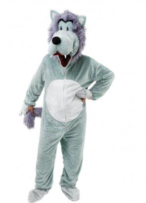 Wolf Mascot (Big Head) Costume