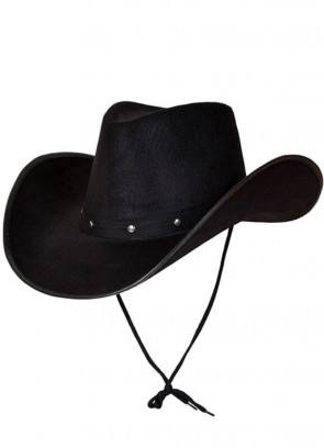 Texas Black Studded Cowboy Hat