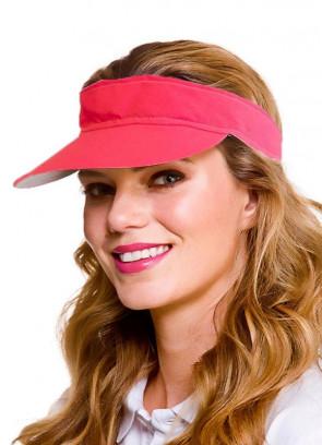 Golf Visor - Neon Pink