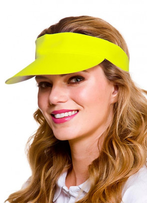 Golf Visor - Neon Yellow