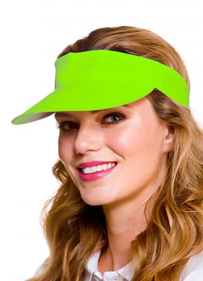 Golf Visor - Neon Green