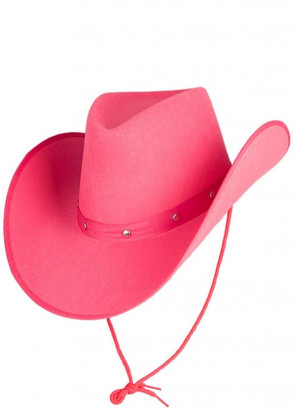 Texas Pink Studded Cowgirl Hat
