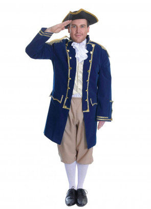 Admiral Of The Fleet Costume   Handsome Beast