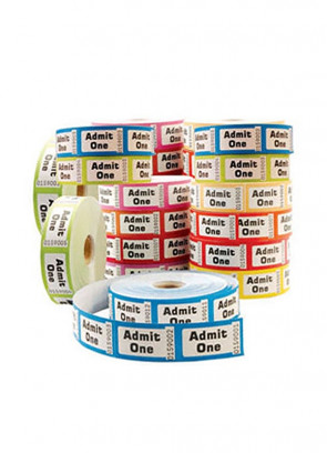 Admission Tickets - 1 Roll
