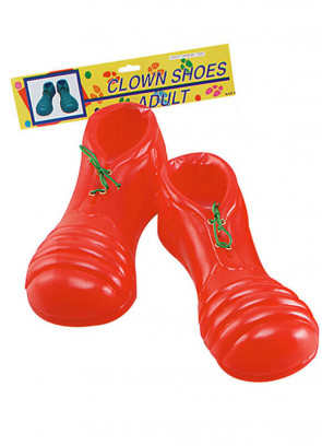 Blow Molded Clown Shoes - Adult