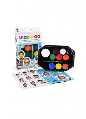 Snazaroo Adventure Face Painting Kit – Blue Box