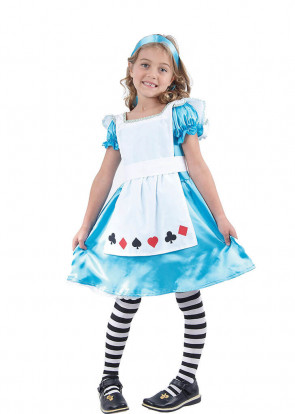 Alice In Wonderland  (Girls) Costume