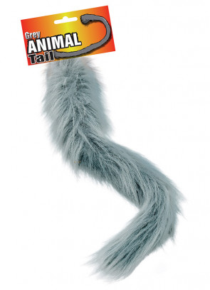 Animal Tail Grey