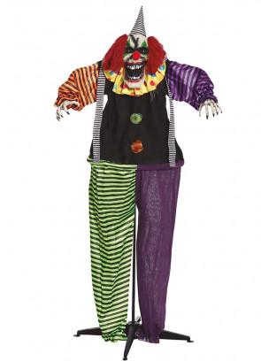 Animated Life-Size Horror Clown with Sound