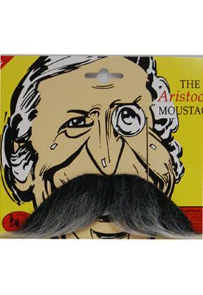 Aristocrat Moustache - Grey