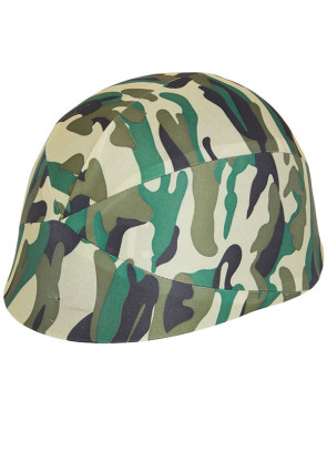Camoflauge Army Helmet (Adults)